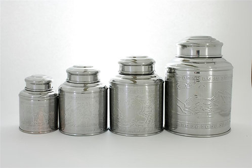 Stainless Steel Tin (100 g)