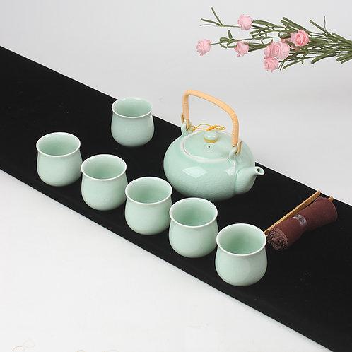 Celadon Porcelain Teaset
