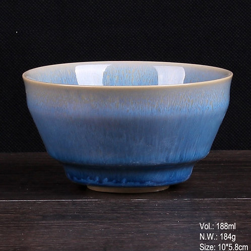 Blue Jun Ware Cup