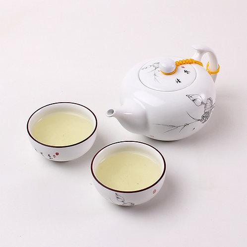 Service à thé motif lotus