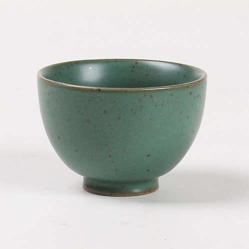 Green Kyusu Porcelain Teacup