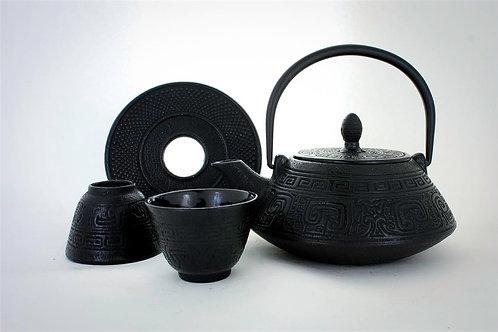 Black Cast Iron Tea Set