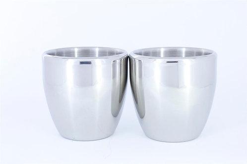 Stainless Steel Teacups (200 ml)