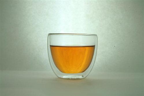 Double Wall Glass Teacup (110 ml)