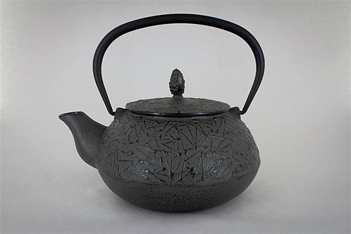 Earth Grey Cast Iron Teapot