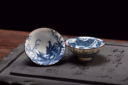 Dragon Porcelain Teacup