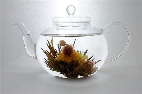 Théière en verre ronde (1200 ml)