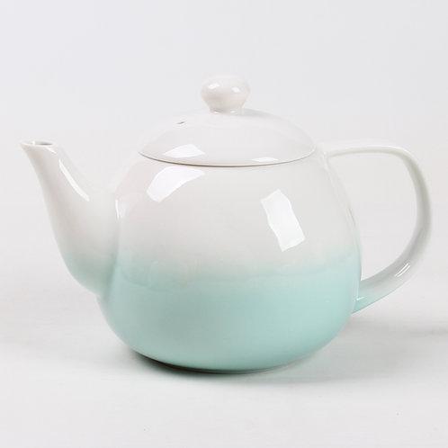 Théière en porcelaine vert celadon «Dawn»