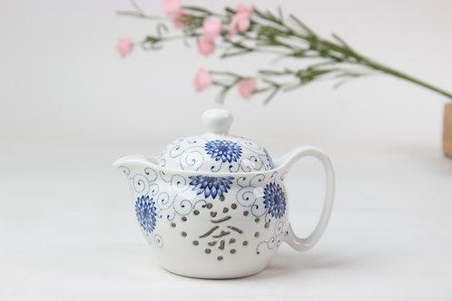 7-piece Translucent Porcelain Teaset