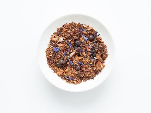 Tisane aux bleuets et hibiscus (100 g)