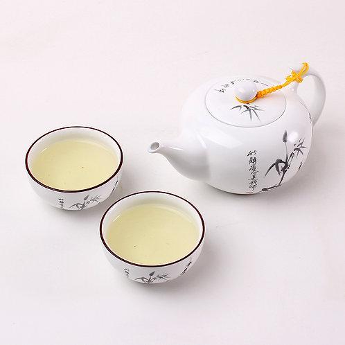 Bamboo Porcelain Teaset