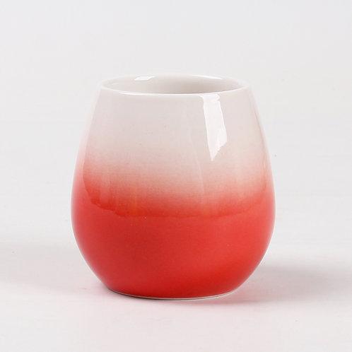 Tasse à thé en porcelaine rouge «Dusk»