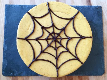 Pumpkin Cheesecake with Chocolate Cookie Crust