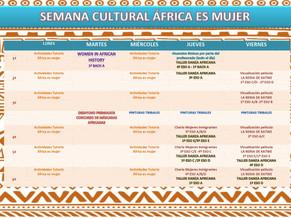 Actividades Semana Cultural de África