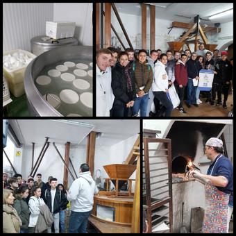 El alumnado de cocina y FPB visita algunas empresas locales de Coín con sabor a Málaga
