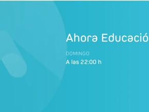 Ahora Educación entrevista a deportistas de élite de nuestro centro, domingo 24 a las 22h00