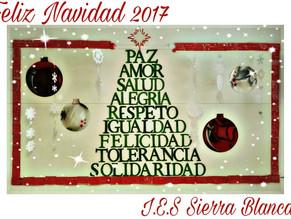El IES Sierra Blanca les desea una Feliz Navidad