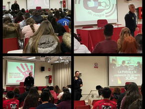 La policía Nacional de Marbella colabora con nuestro centro con diferentes charlas para el alumnado