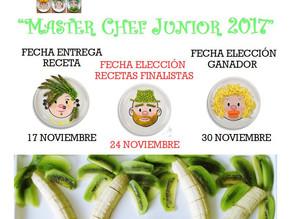 """I Concurso de Cocina Saludable """"MASTER CHEF JUNIOR 2017"""
