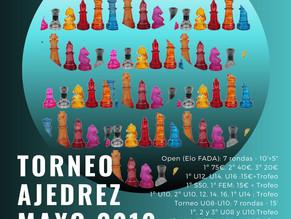 25 Mayo próximo Torneo de Ajedrez Plaza del Mar
