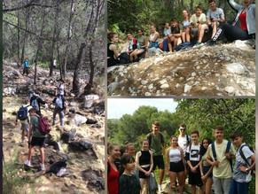 Se despide al alumnado del Intercambio con Alemania con una ruta de senderismo por nuestra Sierra