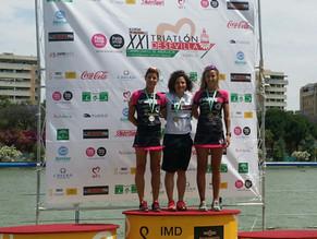 Sonia Vázquez campeona de Andalucía de Triatlón