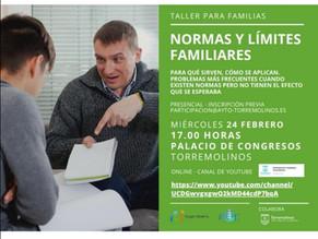 Taller de familias: Normas y límites familiares