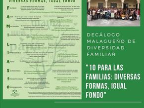 Reconocimiento al IES Sierra Blanca por su aportación al Decálogo de la diversidad familiar
