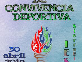 Cartel ganador de las III Jornadas de convivencia deportiva