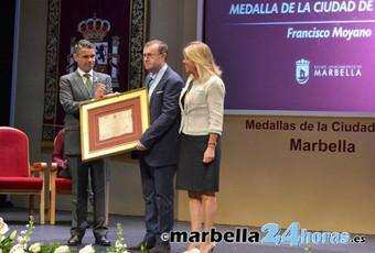 El historiador y profesor Francisco Moyano será el nuevo cronista de Marbella