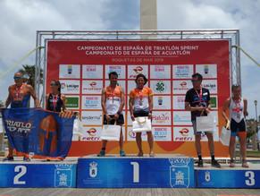 Sonia Vázquez, campeona de España de Triatlón