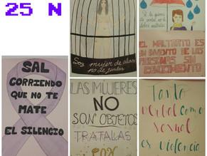 Slogans contra la Violencia de Género