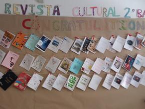 Exposición en el Hall de Revistas Culturales elaboradas por el alumnado de 2º Bachillerato