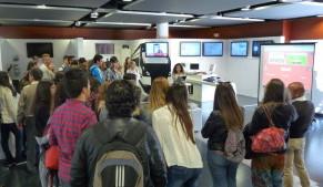 Los estudiantes de Erasmus+ visitan Andalucia Lab