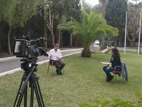 Reportaje COVID en el IES Sierra Blanca