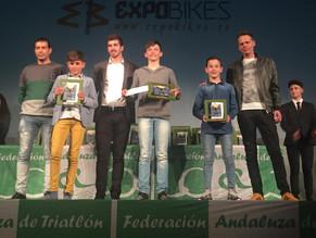 Javier Tirado, 3º clasificado en el circuito de duatlón y triatlón andaluz.