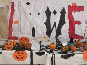 Ganadores concurso de calabazas para Halloween