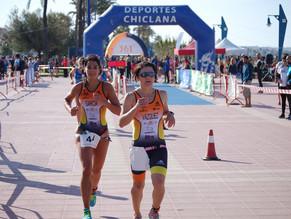 Sonia Vázquez, Campeona del Andalucía de Triatlón
