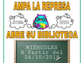 Apertura de la Biblioteca los miércoles de 17h a 19h