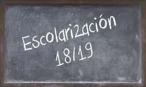 Calendario de escolarización curso 2018 /2019