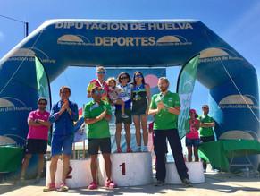 Sonia Vázquez campeona absoluta de Triatlón en Chiclana