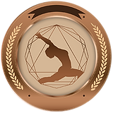 Bronza Yoga Medallion Round 300px.png