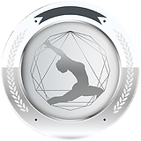 Silver Yoga Medallion Round 300px.png