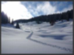 traversée en ski de rndonnée nordique