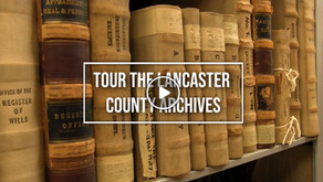 Treasures in the Lancaster County Archives