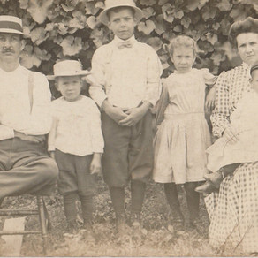Favorite Photo (#52Ancestors week 2): a young family, a murder, a son redeemed
