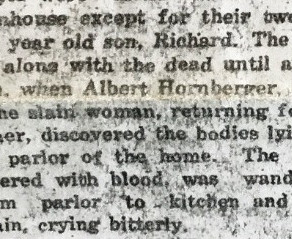 A Murder and Suicide's Youngest Victim (#52Ancestors week 32: Youngest)