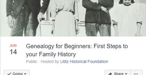 First Steps to your Family History