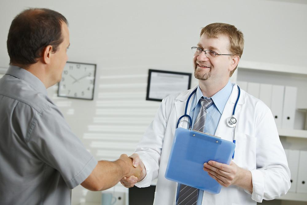 Come comportarsi con il medico