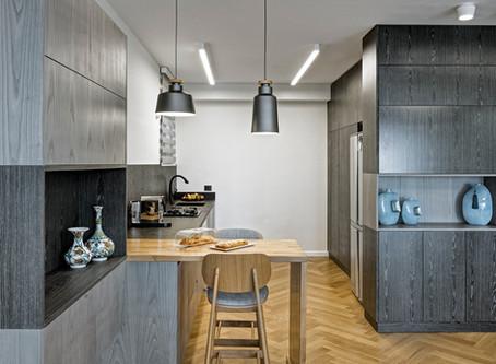 המטבח שעשה את הדירה -  הצצה לתהליך עבודה